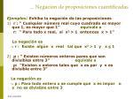 negaci n de proposiciones cuantificadas1