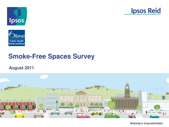 Smoke free spaces survey