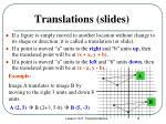 translations slides