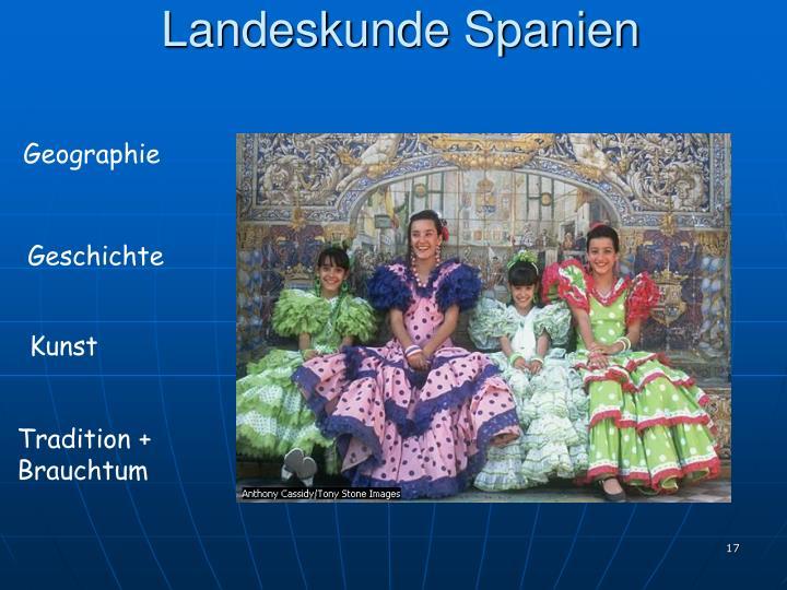 Landeskunde Spanien