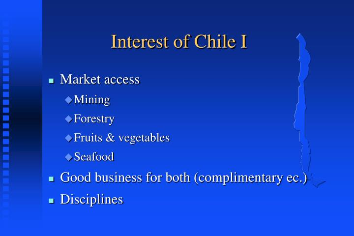Interest of Chile I