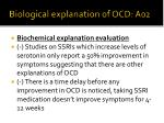 biological explanation of ocd a021