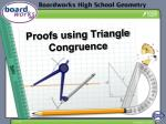 proofs using triangle congruence