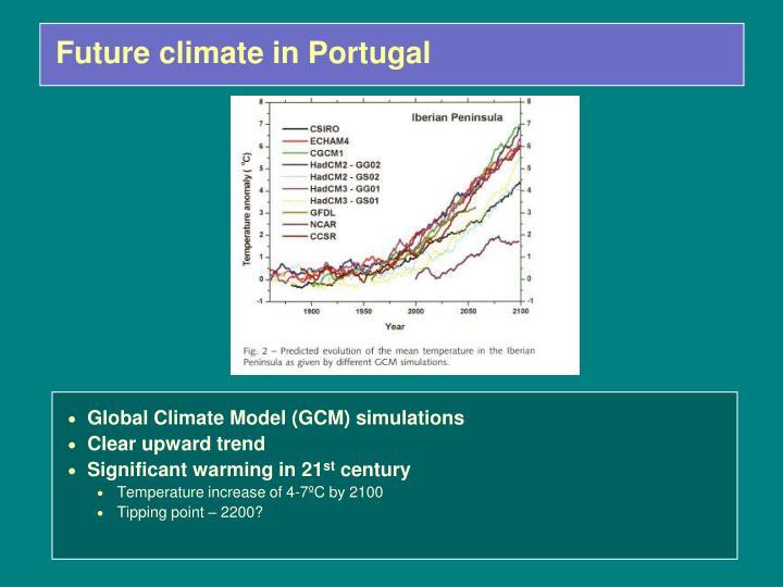 Future climate in Portugal