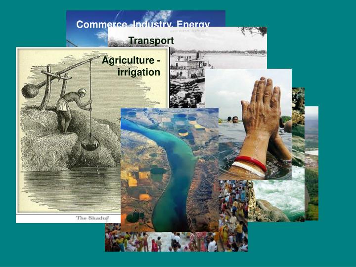 Commerce ,Industry, Energy production