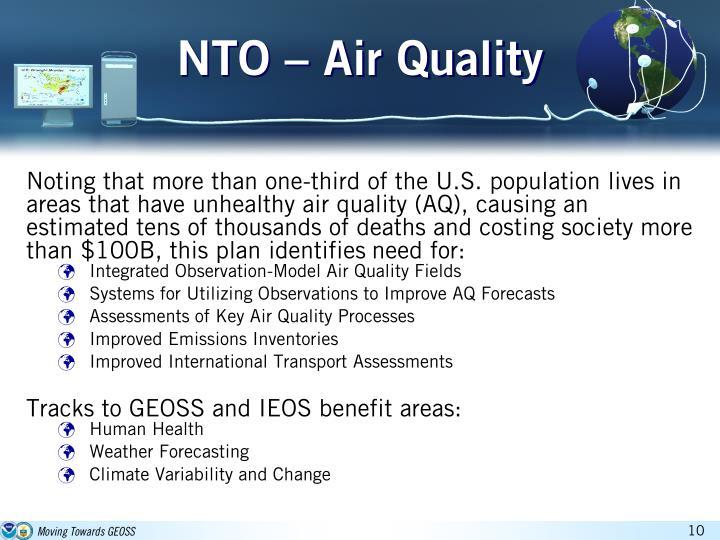 NTO – Air Quality