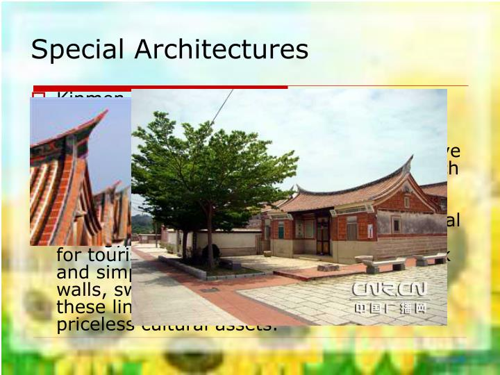 Special Architectures
