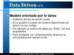 data driven 1 3