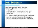 data driven 3 3
