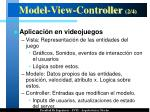 model view controller 2 4