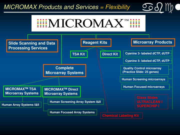 MICROMAX Products and Services