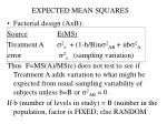 expected mean squares2