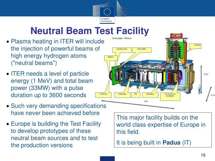 Neutral Beam Test Facility