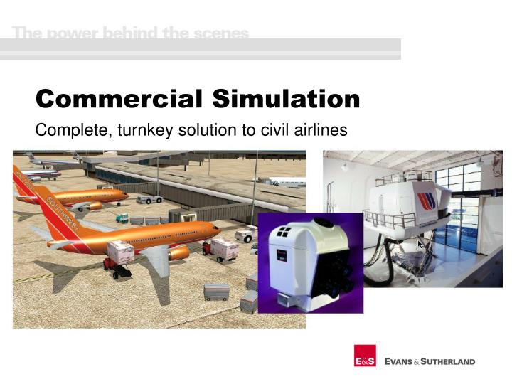 Commercial Simulation