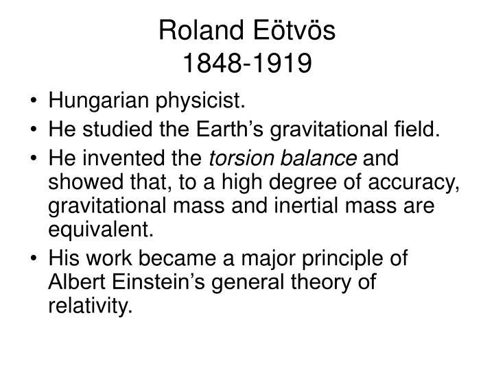 Roland e tv s 1848 1919
