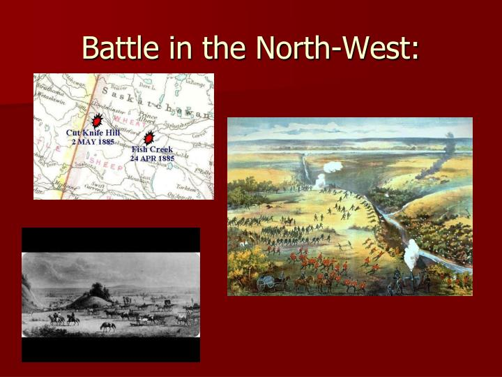 Battle in the North-West: