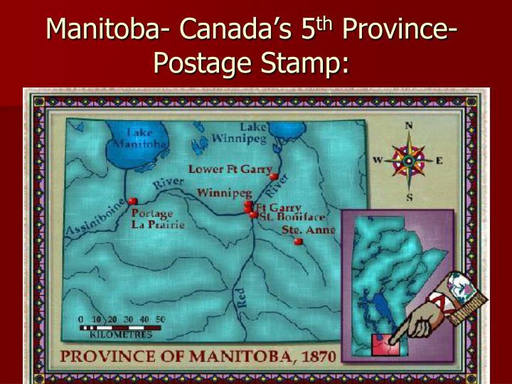 Manitoba- Canada's 5