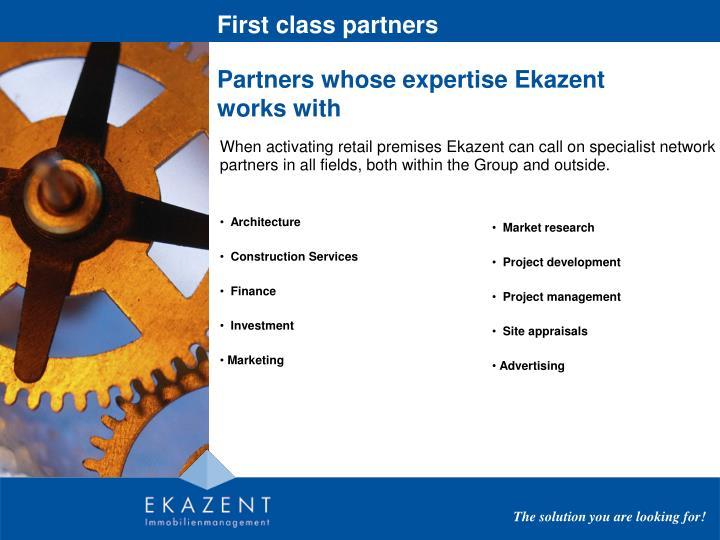 First class partners