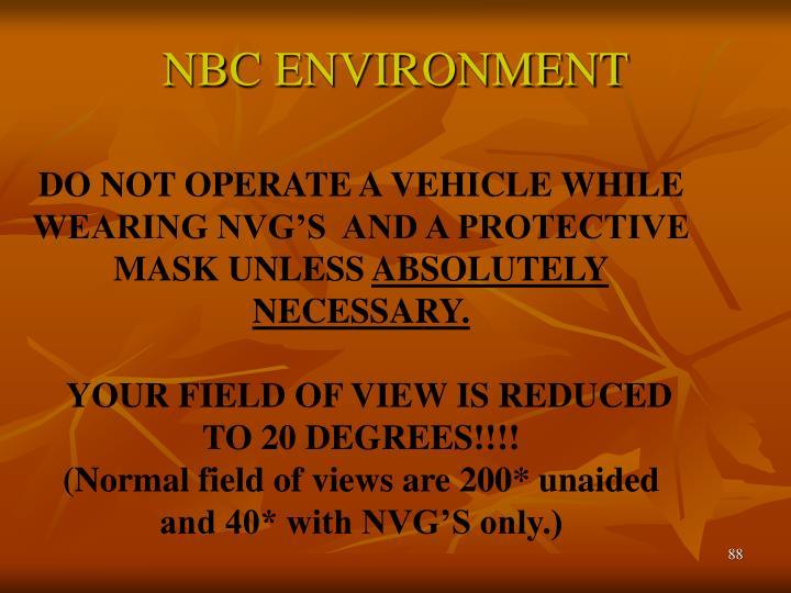 NBC ENVIRONMENT