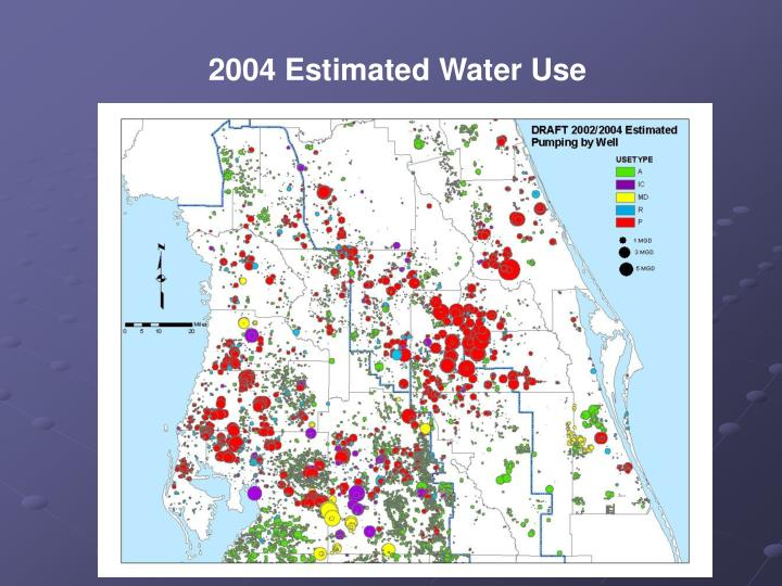 2004 Estimated Water Use