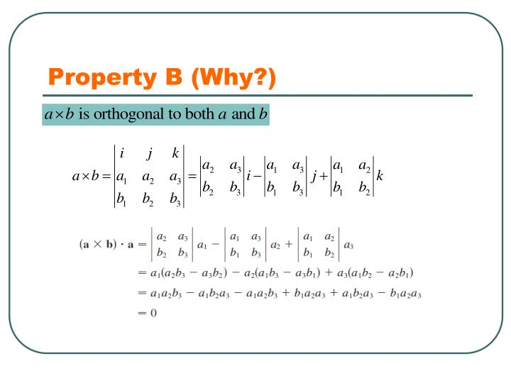 Property B (Why?)