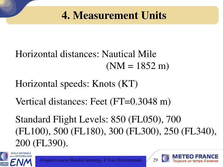 4. Measurement Units