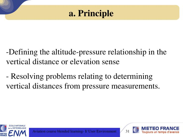 a. Principle