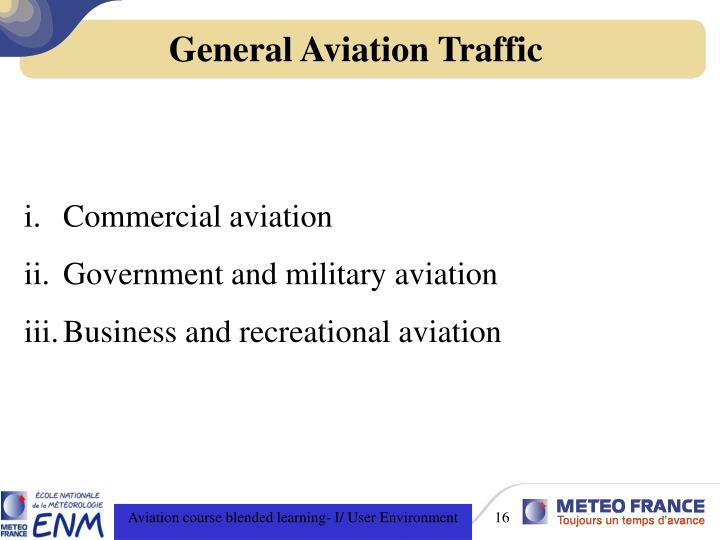 General Aviation Traffic