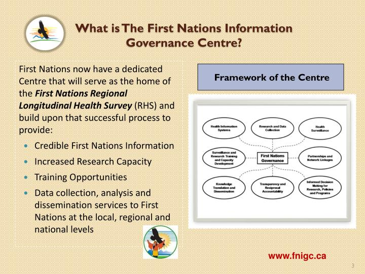 What is the first nations information governance centre