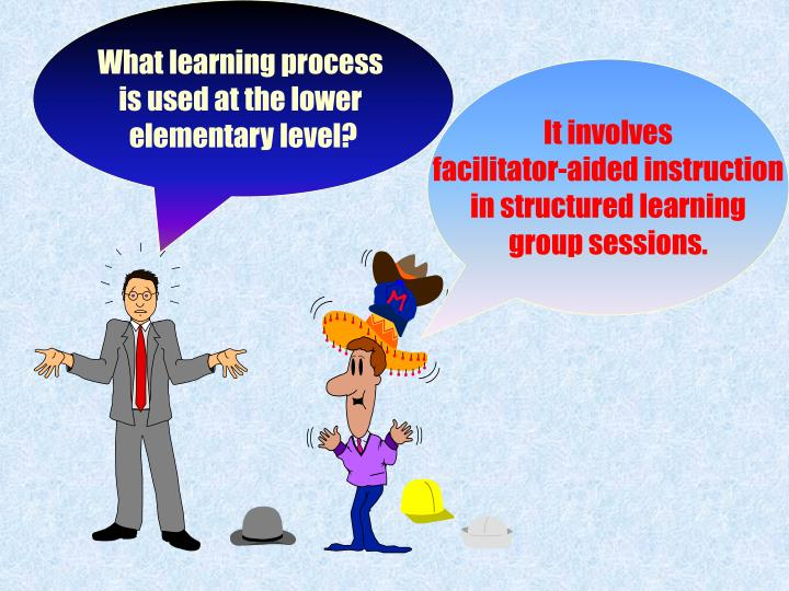 What learning process