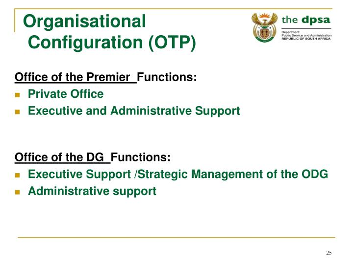 Organisational