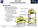 efw axb design description dad