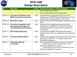 efw axb design description7