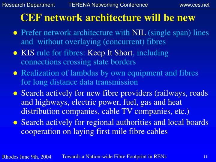 CEF network