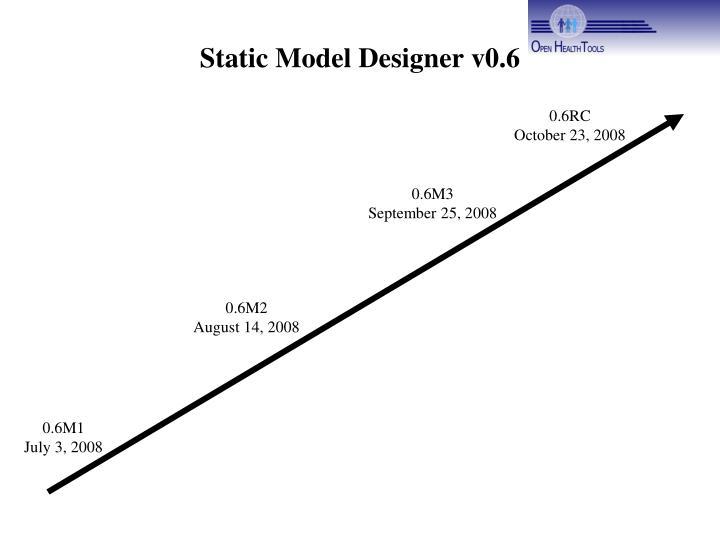 Static model designer v0 6