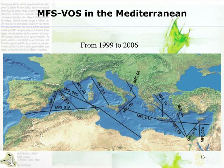 MFS-VOS in the Mediterranean