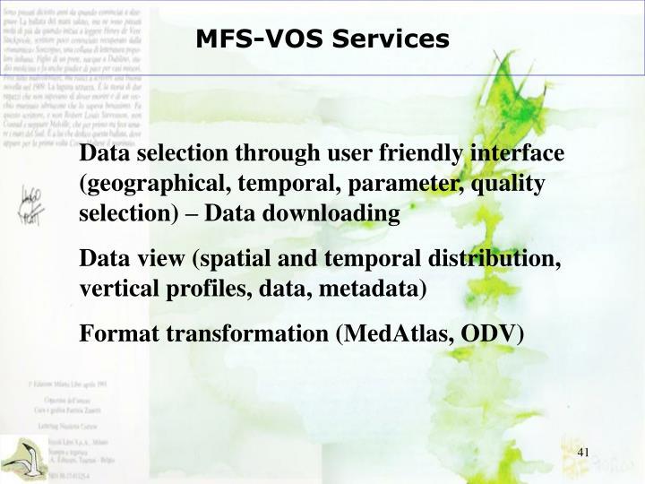 MFS-VOS Services