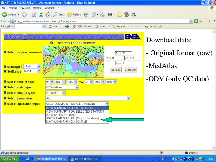 Download data: