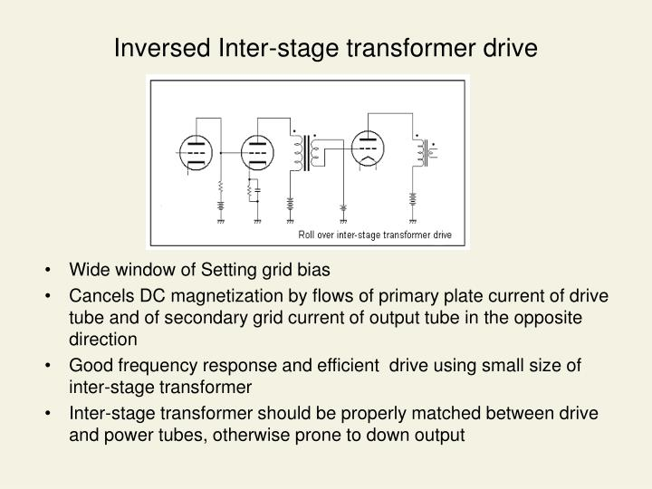 Inversed Inter-stage transformer drive