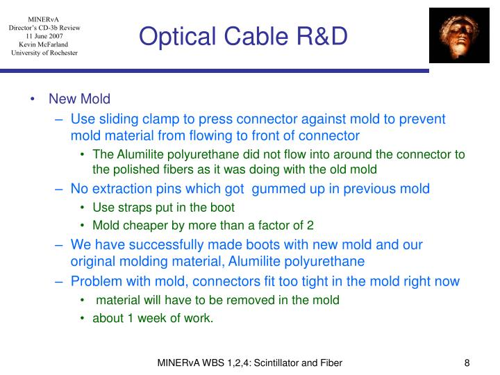 Optical Cable R&D