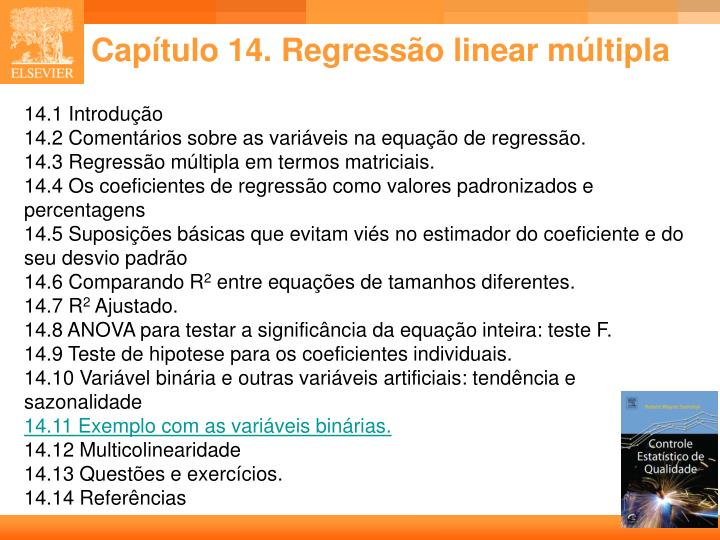 cap tulo 14 regress o linear m ltipla n.
