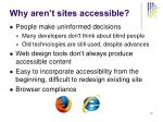 why aren t sites accessible