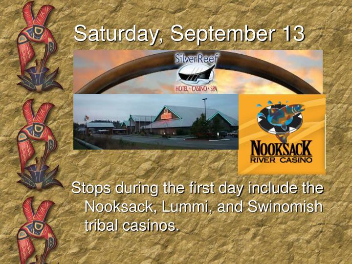Saturday, September 13