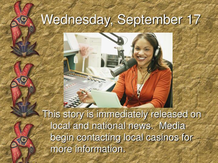 Wednesday, September 17