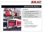 booster reels