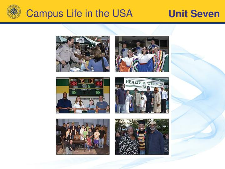 Campus life in the usa