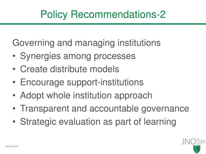 Policy Recommendations-2