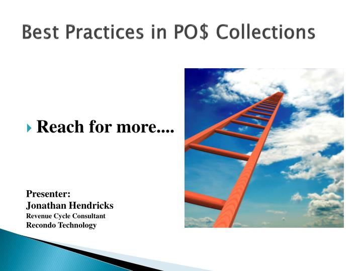 Best practices in po collections