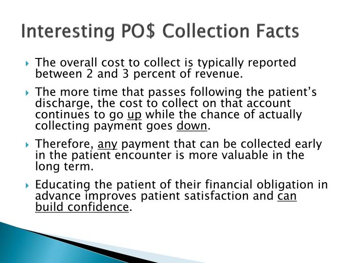 Interesting PO$ Collection Facts
