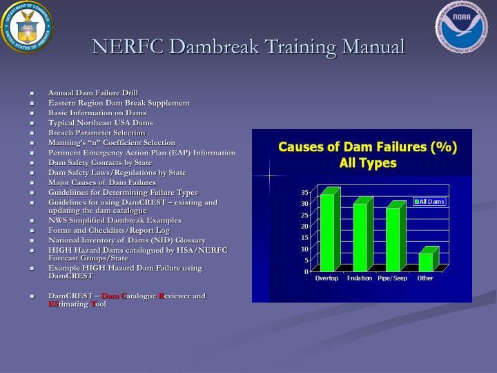 NERFC Dambreak Training Manual